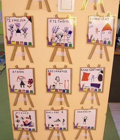 Preschool Family Theme, Preschool Arts And Crafts, Family Crafts, Crafts For Kids, Castle Classroom, Classroom Decor, Class Activities, Autumn Activities, School Items