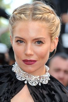 13 Cool New Plaits To Try Now #refinery29  http://www.refinery29.uk/cool-new-plait-ideas-styles#slide-3  Sienna Miller is a regular hair hero of ours (who didn't love when she dyed her hair earlier this year?) but we especially loved her double French plaits at the Carol premiere in Cannes....