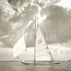 Sunlit Sails I Giclee Print by Michael Kahn at Art.com