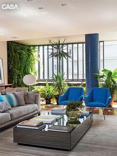 Apartamento grande e antigo é atualizado com reforma em São Paulo - Casa