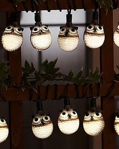 Owl Light String - I need this!