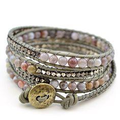 Free Wrap Bracelet Project   Tricks to Laddering- Sage