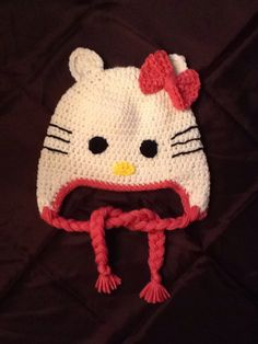 A personal favorite from my Etsy shop https://www.etsy.com/listing/222654382/hello-kitty-hat