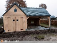 Wood in style Pool houses, # garden house # pool house, - Wood in style Pool houses, house - Backyard Storage Sheds, Backyard Sheds, Outdoor Sheds, Shed Storage, Garage Building Plans, Garage Plans With Loft, Carport Garage, Backyard Pavilion, Pergola Patio