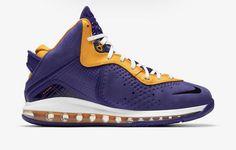 Purple Yellow, Purple Gold, Latest Jordan Shoes, Air Max Sneakers, Sneakers Nike, Sneaker Brands, Nike Lebron, Lebron James, Nike Men