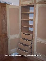 alcove wardrobe with bi fold doors - Google Search