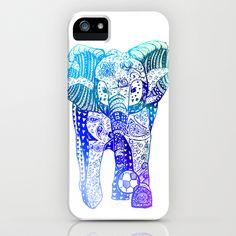 An Elephant Plays Soccer iPhone & iPod Case