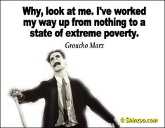 38 Hilariously Funny Groucho Marx Quotes | Shinzoo Quotes