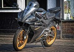 Yamaha R125 by Photoshop Player 2009, via Flickr Yamaha Motorcycles, Yamaha Yzf, Cars And Motorcycles, Yzf R125, Film Images, Street Bikes, Bike Life, Motocross, Motorbikes