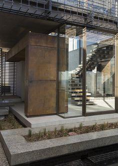 House Boz | Outside | Nico van der Meulen Architects #Design #Architecture #Steel   #Contemporary