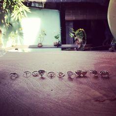 www.stylewanderer.com #rings #silver #jewellery