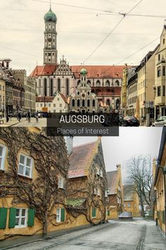 Top 20 Eventlocations in Augsburg Augsburg Germany, Europe, Places Of Interest, Travel Memories, World Heritage Sites, Big Ben, Places Ive Been, Partys, Building