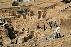 Göbeklitepe is an archaeological site at the top of a mountain ridge in the Southeastern Anatolia Region of Turkey Sanliurfa