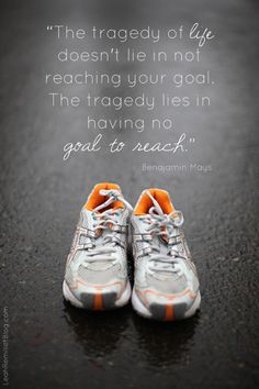 Aim high and set goals