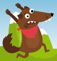 Wolf illustration