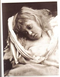 An angel by Julia Margaret Cameron