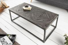 Industriálny stolík v kombinácii s kovom 100cm.