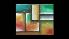 Handmade oil painting abstract with texture canvas 16x20,red yellow green contemporary art by RainbowByIrida on Etsy