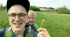 Tom Fletcher from McFly, Youtube Channel. Buzz and the Dandelions