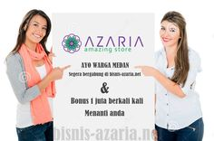 Bisnis azaria untuk warga medan
