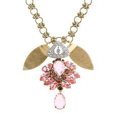 Lulu Frost for J.Crew crystal petal necklace $185