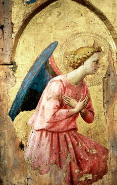 Image: Fra Beato Angelico - Adoration of an Angel