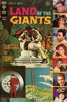 Land of the Giants #2 Gold Key Comics Written by David (Jet Dream) with art by Tom (Time Tunnel) Gill