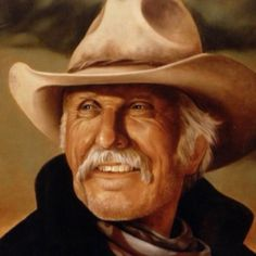 Commissioned Oil Painting: Lonesome Dove Portrait Painting in Oil - Gus McCrae - Robert Duvall as Gus McRae of Lonesome Dove  - Portrait Artist Rick Timmons