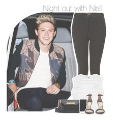"""""""Night out with Niall"""" by antisocialmuke ❤ liked on Polyvore featuring Topshop, Ally Fashion, Balenciaga and NARS Cosmetics"""