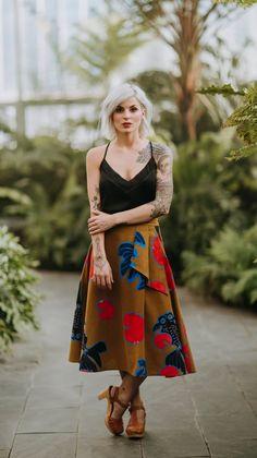 Betta A-Line Skirt