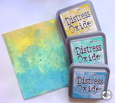 Lorraine's Loft: Simon Says: We're Going Around In Circles Distress Markers, Tim Holtz Distress Ink, Distress Ink Techniques, Embossing Techniques, Zealand Tattoo, Distress Oxide Ink, Scrapbooking, Colouring Techniques, Ink Stamps