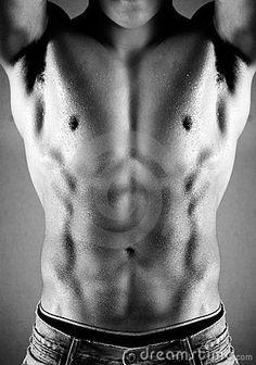 Muscular Male Torso Stock Photo - Image: 5889560
