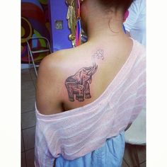 #elephant #tattoo #girly #ink