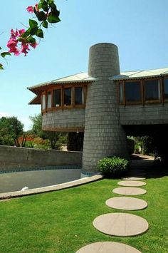 A Phoenix home designed by Frank Lloyd Wright shown in 2012. AP Photo by Ross D. Franklin.