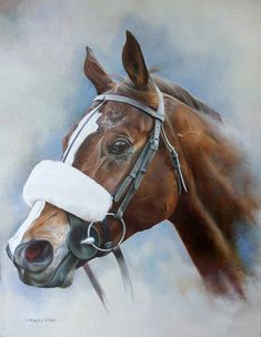 Kauto Star Limited Edition Horse Racing Print by Equestrian Artist Joanna Stribbling