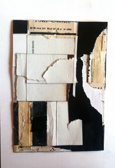AVSM: In reference to our #ArchitectsSketchbook #bookmaking assignment - cover idea using reclaimed materials. (justanothermasterpiece:  Larry Strong.)