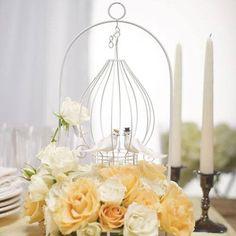 Gabbia centro tavola nozze
