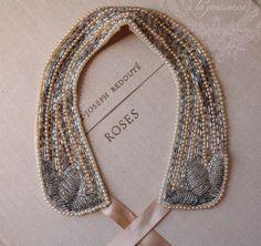 vintage necktie collar
