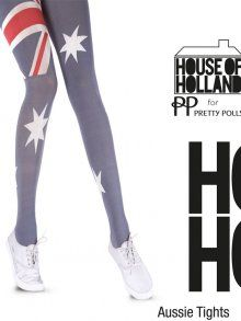 Henry Holland Aussie Tights at Tightsplease