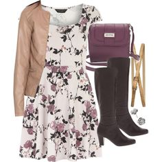 A fashion look from July 2014 featuring Dorothy Perkins dresses, Pull&Bear jackets and Mootsies Tootsies boots. Browse and shop related looks.