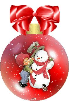 gifs animes noel - Page 16 Black Christmas, Merry Christmas And Happy New Year, Christmas Is Coming, Christmas Images, Christmas Balls, Christmas Snowman, Winter Christmas, Vintage Christmas, Christmas Time