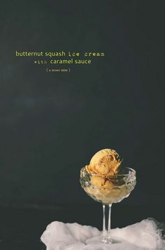 Butternutsquash caramel sauce icecream by abrowntable, via Flickr