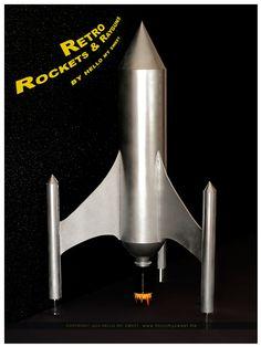 Sweet Parties: Retro Space, Rocket Ships & Ray-guns Dessert Table ...