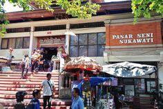 Sukawati Art Market in Bali - Ubud Shopping