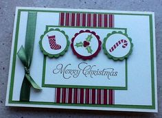 Stampin up christmas time