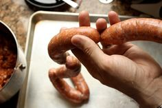Homemade Italian Sausage Recipe :: Whipped - Another basic recipe. This is the kind of Italian sausage recipe I'm familiar with. Simple, only a few ingredients.