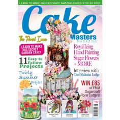 The beautiful floral issue out NOW Our cover star is Jen Homac from Sugar Cakes…