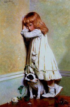 Charles Burton Barber (1845-1894) dated 1893