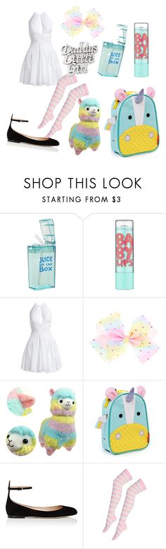 """""""Back to school Llama little"""" by baby-bunny-cgl ❤ liked on Polyvore featuring Maybelline, Alaïa, Skip Hop, Valentino and Kevin Jewelers"""