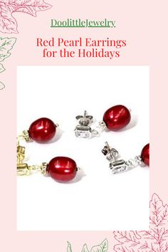 Dainty Earrings, Earrings Handmade, Holiday Jewelry, Jewelry Gifts, Vip Group, Christmas Earrings, Secret Santa Gifts, Latest Styles, Gift Cards